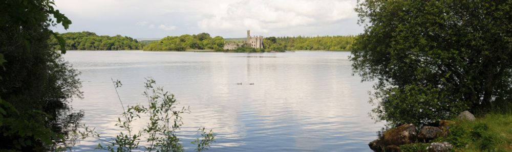 Castle Island Lough Key Forest Park Ireland